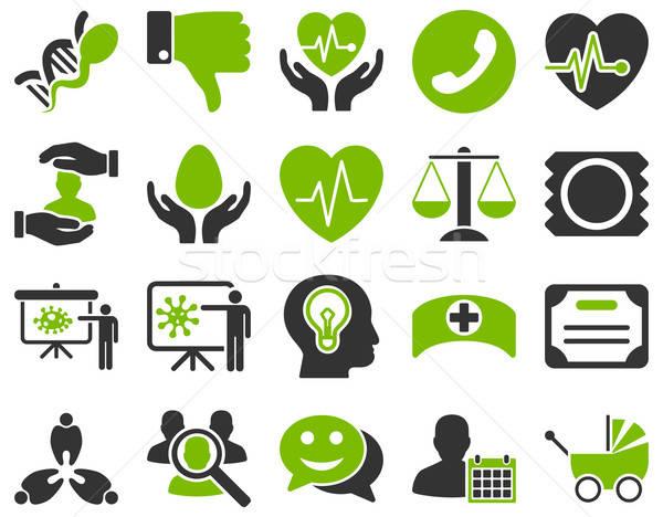 医療 アイコン スタイル エコ ストックフォト © ahasoft