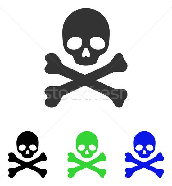 Muerte vector icono ilustración estilo icónico Foto stock © ahasoft