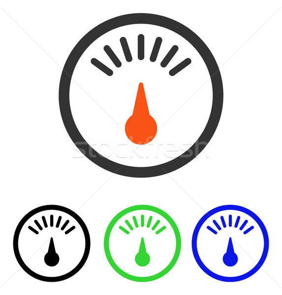 Meter Flat Vector Icon Stock photo © ahasoft