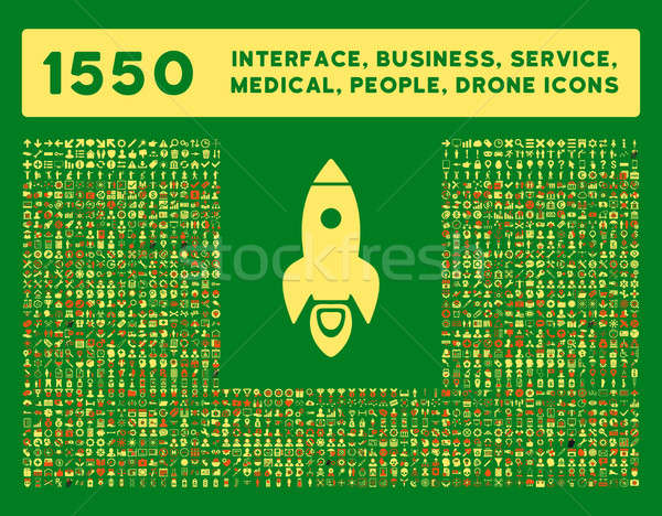 Interface, Business, Tools, People, Medical, Awards Glyph Icons Stock photo © ahasoft