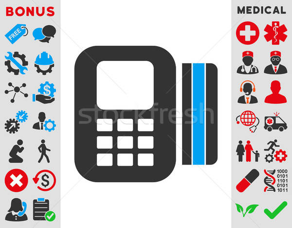 Card Processor Icon Stock photo © ahasoft