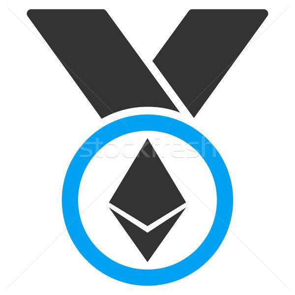 Nagrody medal ikona wektora aplikacja web design Zdjęcia stock © ahasoft