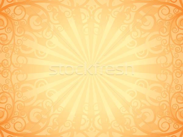 Stock fotó: Dekoratív · oldal · régi · könyv · papír · absztrakt · természet