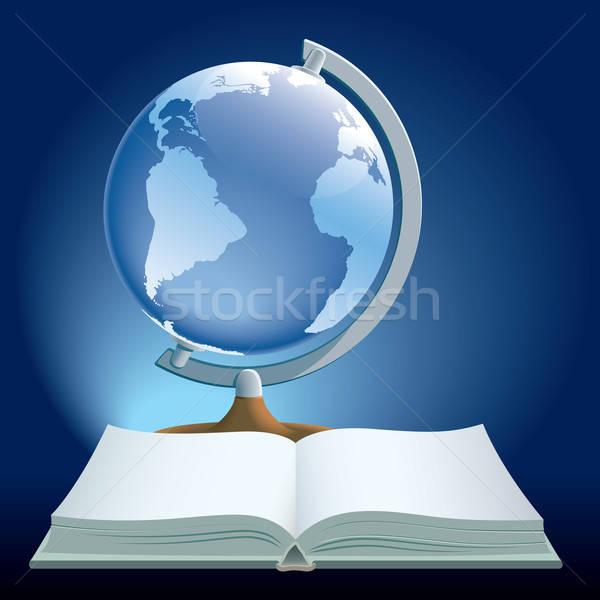 Book and globe Stock photo © Aiel