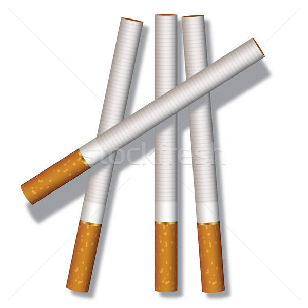 Four cigarettes Stock photo © Aiel