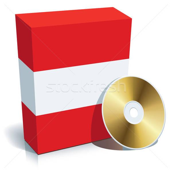 Austrian software box and CD Stock photo © Aiel