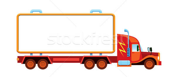 Large lorry  Stock photo © Aiel
