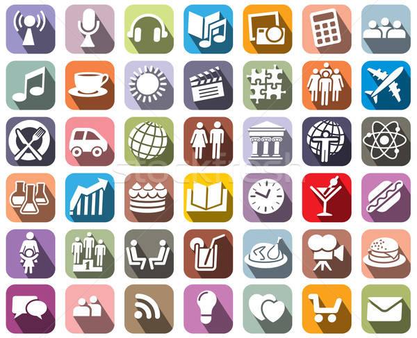 Icons Stock photo © Aiel