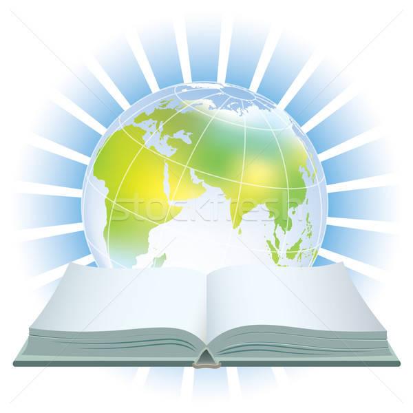 World book icon  Stock photo © Aiel