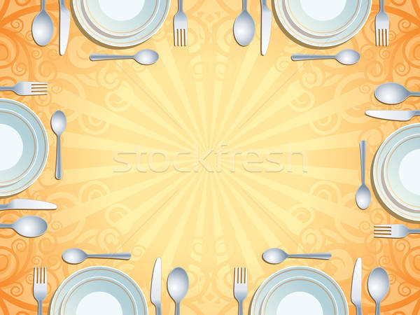 Place setting Stock photo © Aiel