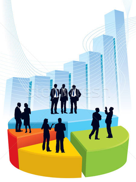 Business graph Stock photo © Aiel