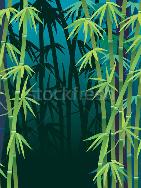 Bamboo forest Stock photo © Aiel