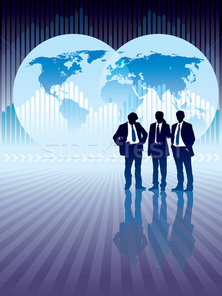 Stock photo: Global business