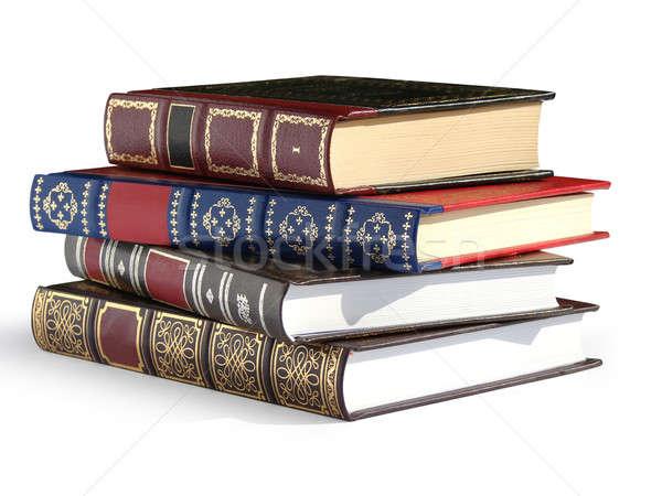 Vintage books Stock photo © Aiel
