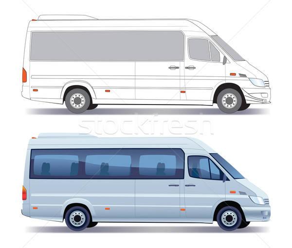 Minibus Stock photo © Aiel