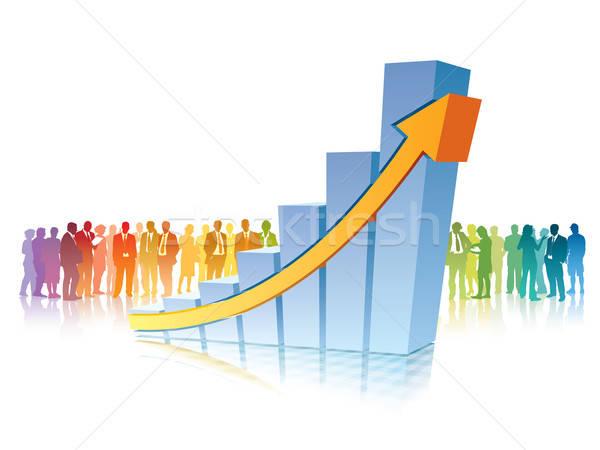 Success in business Stock photo © Aiel
