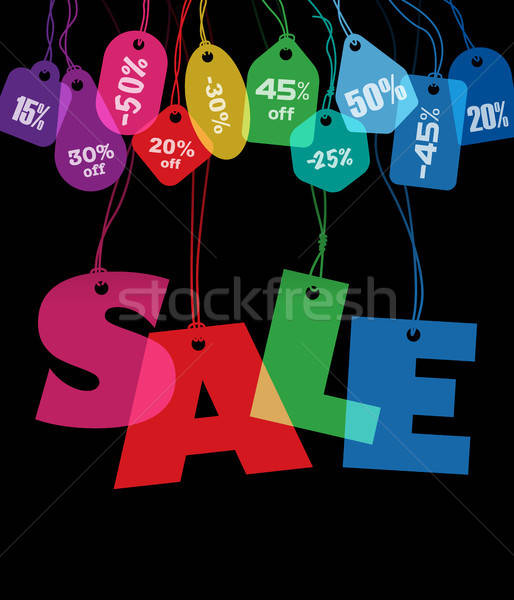 Big Sale and price tags Stock photo © Aiel
