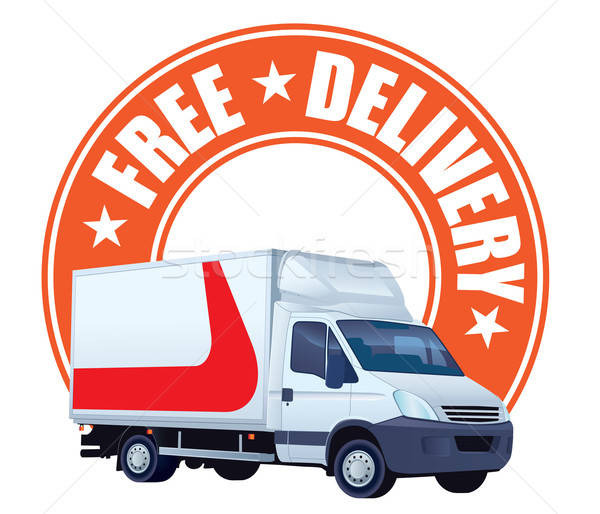 Free delivery sign Stock photo © Aiel