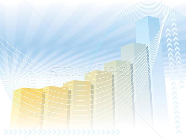 Large graph Stock photo © Aiel