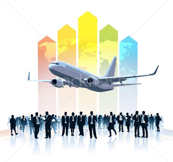 Business travel Stock photo © Aiel