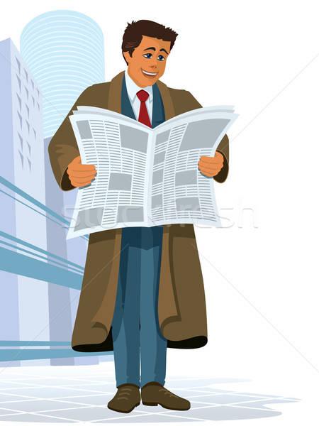 Newspaper Stock photo © Aiel