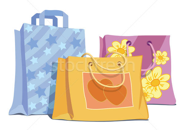 Shopping bags Stock photo © Aiel