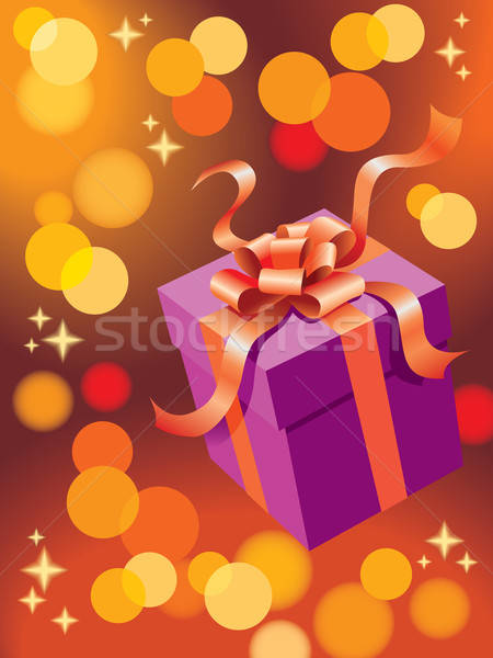 Christmas gift Stock photo © Aiel