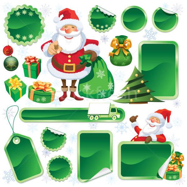 Green Christmas sale Stock photo © Aiel