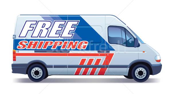 Delivery van Stock photo © Aiel