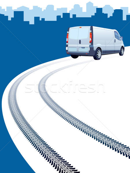 Track way Stock photo © Aiel