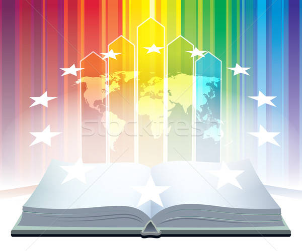 Book of world Stock photo © Aiel