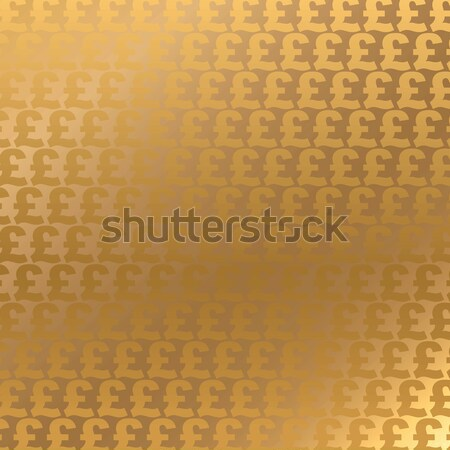 Golden Pound Sterling background Stock photo © Aiel