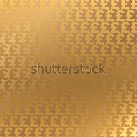 ポンド 通貨 シンボル 金 ストックフォト © Aiel