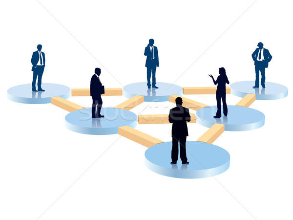 Organization chart Stock photo © Aiel
