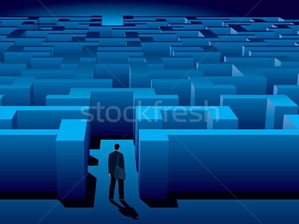 Maze Stock photo © Aiel