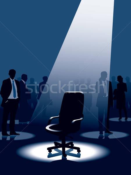Stockfoto: Vacant · lege · stoel · groep · mensen · man · achtergrond