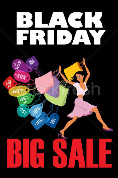 Stock photo: Black Friday Big Sale