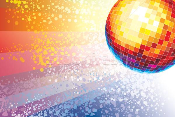 Disco Ball зеркало Места музыку вечеринка Сток-фото © Aiel