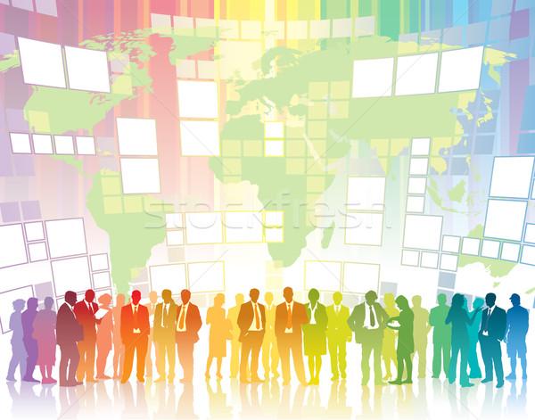 Global communication Stock photo © Aiel