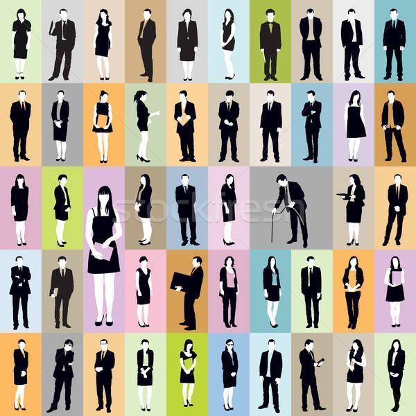 Business pattern Stock photo © Aiel