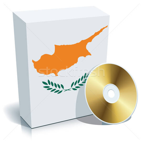 Stock fotó: Cyprus_Box