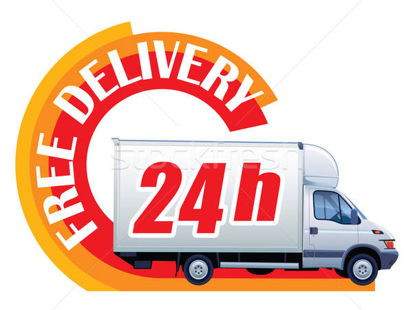 Free delivery - 24h Stock photo © Aiel