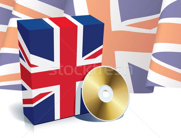 English software box and CD Stock photo © Aiel