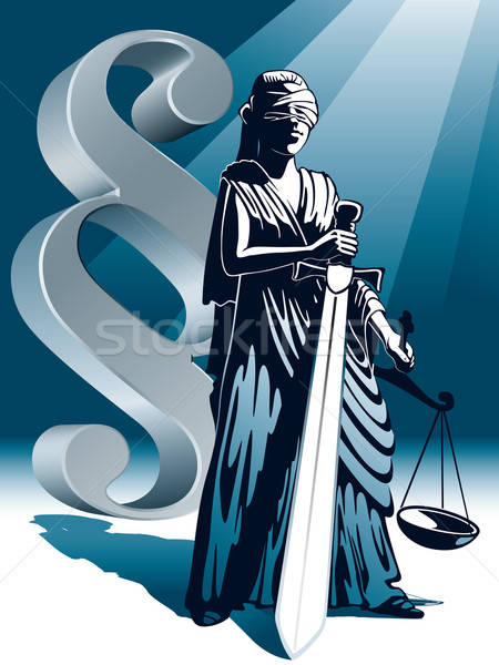 Lady Justice Stock photo © Aiel