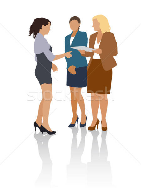 Business situations Stock photo © Aiel