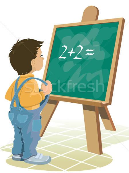 Stock photo: Chalkboard
