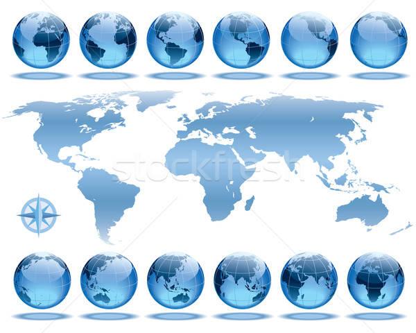 Foto d'archivio: Terra · rotazione · set · 12