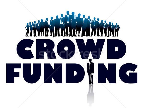 Crowd funding Stock photo © Aiel