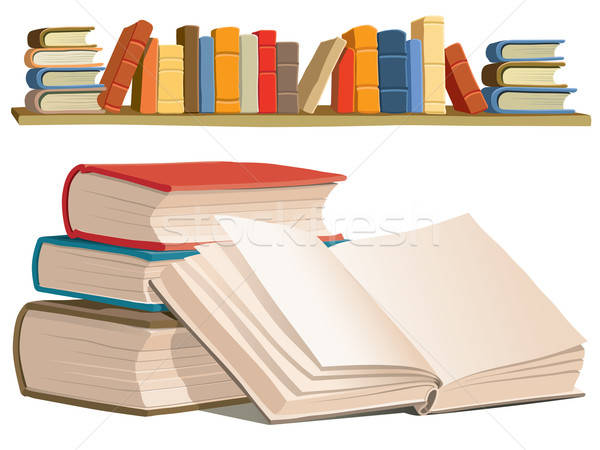 Stock photo: Books collection