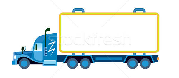 Large lorry  Stock photo © Aiel